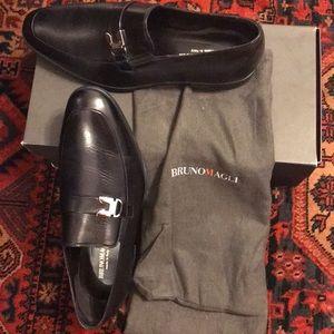 Bruno Magli Men's Rissone Loafer, Black, US 10.5 M